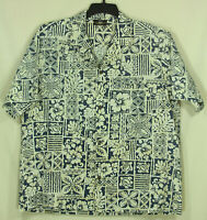 Royal Creations Cotton Hawaiian Shirt Mens XL Made In Hawaii Excellent Condition