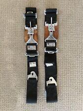 (2) DEIST Racing Seat Belt Pair VINTAGE 2 Point Harness Lap Belt EXPIRED Hot Rod