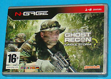 Ghost Recon Jungle Storm - Nokia N-Gage NGage - PAL