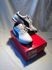 Puma Ace Golf Shoes White/Black/High Risk Red, New in Box, Size 9.5 M