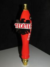 New Tecate Cerveza tall Red Aztec Bird import Beer Tap Handle Man Cave Kegerator