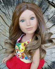 9-10 Doll Wig in Cinnamon Spice
