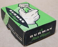 VINTAGE BURMAN HAIR CLIPPER IN ORIGINAL BOX