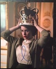 CLAIRE FOY SIGNED THE CROWN 8X10 PHOTO! QUEEN ELIZABETH II AUTOGRAPH 1