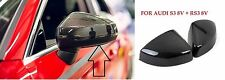 genuine audi A3 8v 2013-2017 carbon fibre wing mirror covers left and right pair