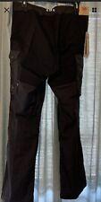 Nwt Fjallraven Women's Vidda Pro Trouser Pants 89335 Us 29 Eu 38 Black Grey