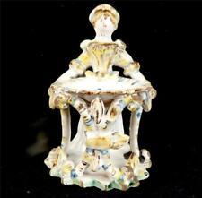 18TH century Italian maiolica FIGURINE MASTER SALE DERUTA NAPOLI