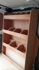 Vauxhall Vivaro SWB Tool Parts Storage Unit Ply Shelving ,Van Plywood Racking