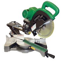 """Hitachi C10FSHPS 10"""" Sliding Dual Compound Miter Saw with Laser Guide NEW"""
