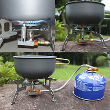 Portable Split Type Gas Stove Picnic Furnace Outdoor Camping Cooking FY