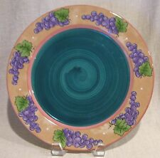 Bois D'Arc Tutti Fruitti Grape Dinner Plate by Essex Collection