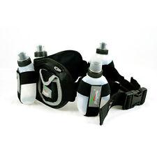 New Running Hydration Belt, 4 bottle, Storage Pockets, Unisex, 1 size fits All