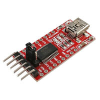 3.3V/5V FT232RL USB To TTL Serial Adapter Module DTR RX TX VCC CTS GND Pin