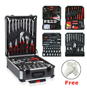 Tool Set 810 Pieces Complete With A Lockable And Wheeled Solid Case With 2 Keys