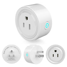 US-Plug Smart Power Socket Wifi Remote Control LIGHT FAN Router for Google home