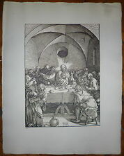 DURER Estampe d'après une gravure tirage 19iem Albrecht Dürer