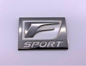 OEM 14-20 Lexus IS250 IS300 IS350 F-Sport Front Left Fender Emblem Logo Badge