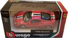 Bburago - 1:43 Scale Model Ferrari Race & Play 458 Speciale (BBBR36100B458)