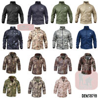 Men's Outdoor Military Tactical Coats QuickDry Lightweight Jacket Casual Hooded