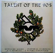 Talent Of The 90's - Depeche Mode Inspiral Carpets RARE MUTE LOGO Argentina ABR