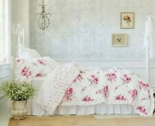 Simply Shabby Chic SUNBLEACHED FLORAL COMFORTER SET ~ KING ~ Pink Floral