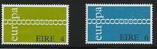 Ireland Scott #305-06, Singles 1971 Complete Set FVF MNH