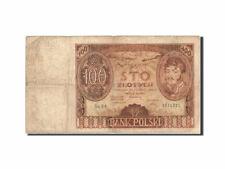 [#263847] Banknot, Polska, 100 Zlotych, 1939, 1932-06-02, KM:89, VG(8-10)