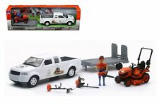 NEWRAY 1:20 KUBOTA PICKUP TRUCK WITH TRAILER & LAWN TRACTOR SS-33263A