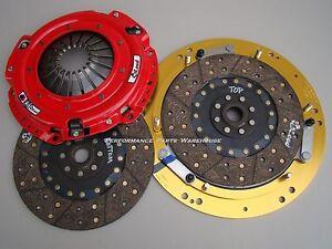 McLEOD RST TWIN DISC CLUTCH 800-HP 97-15 GM LS ENGINE 6-SPEED