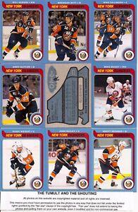 2008-09 OPC O-Pee Chee Retro New York Islanders Complete Team Set (29)