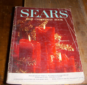 1960 Sears Christmas book catalog 482 pages complete.