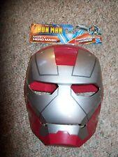 Hasbro Marvel Comics Iron Man the Armored Avenger Mark V Hero Mask Costume