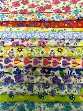 Polycotton Quilting Craft Fabric Remnants