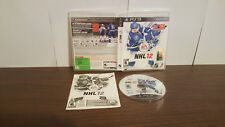 NHL 12 (Sony PlayStation 3, 2011) COMPLETE