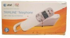 AT&T Landline Phone Corded Home Office Desk Telephone Large Display, White