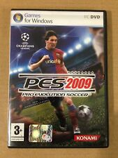 PRO EVOLUTION SOCCER 2009 PES HX Halifax KONAMI for Windows PC DVD ROM ITALIANO
