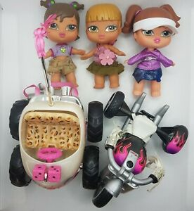 Bratz Babyz Dolls Clothes Buggy & Trike Redressed Outfits MGA Bundle 5 Inches