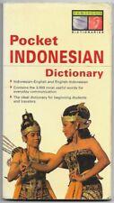 Periplus Pocket INDONESIAN dictionary 2002