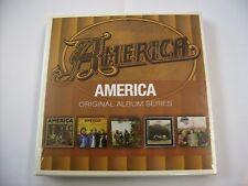 AMERICA - ORIGINAL ALBUM SERIES - 5CD NEW SEALED BOXSET 2011