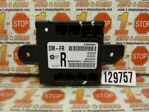 11 12 2011 2012 DODGE CARAVAN FRONT DOOR CONTROL MODULE 05026860AC OEM