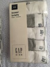 GAP KIDS Boys Boxer Briefs (5-Pack)-size XS