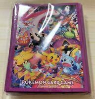 Pokemon Center Japan KANAZAWA Pikachu Card Deck Shield 64 Sleeves Japanese Japan