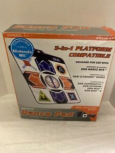 Pelican Dance Pad Universal PS2 Xbox  Nintendo Wii GameCube  Playstation 2
