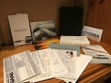 Saab 9-3 Document Wallet With All Original Manuals Booklets and Service Book2001