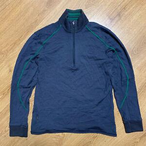 Icebreaker Sport 320 Merino Wool Sweater Pullover Man L
