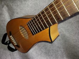 "StringSmith Vagabond Travel Acoustic Guitar USA Backpacker Rover 1 3/4 Nut 24.5"""
