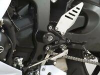 R&G White Lower Crash Protectors - Aero Style for Kawasaki ZX6-R 2015 - 636