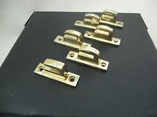 6 CARLISLE BRASS Quality Heavy Duty Brass Casement Window Catch's Polished