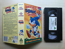 ADVENTURES OF SONIC THE HEDGEHOG - VHS VIDEO