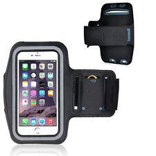 Bracciale Fascia braccio Sport per iPhone 6 PLUS 5.5 Armband fitness corsa Nera